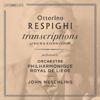 TRANSCRIPTIONS OF BACH & RACHMANINOV/ JOHN NESCHLING [SACD HYBRID] [레스피기 편곡: 바흐, 라흐마니노프]