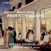 MUSIC FROM PROUST`S SALONS/ STEVEN ISSERLIS, CONNIE SHIH [SACD HYBRID] [프루스트의 살롱 음악 - 스티븐 이설리스]