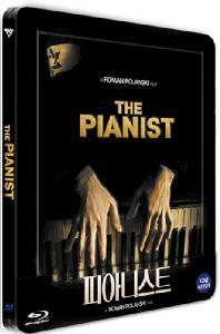 피아니스트 [스틸북] [THE PIANIST] [풀슬립 스틸북 한정판] 오디오DVD포함 2disc+포스트카드6매+아트카드2매+해설책자/아웃케이스 포함
