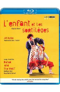 L'ENFANT ET LES SORTILEGES & PETER AND THE WOLF/ ROYAL BALLET SCHOOL, NETHERLANDS DANS THEATER, JIRI KYLIAN [라벨: 어린이와 마법사 & 프로코피에프: 피터와 늑대 - 발레]