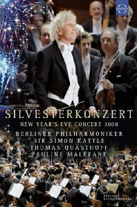 SILVESTERKONZERT: NEW YEAR'S EVE CONCERT 2008/ SIMON RATTLE [래틀과 베를린 필의 2008년 송년음악회]