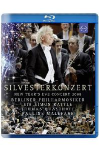 SILVESTERKONZERT: NEW YEAR'S EVE CONCERT 2008/ SIMON RATTLE [래틀과 베를린 필의 2008년 송년음악회]