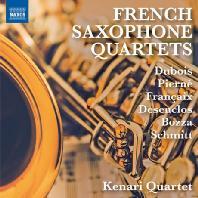 FRENCH SAXOPHONE QUARTETS/ KENARI QUARTET [케나리 사중주단: 프랑스 작곡가들의 색소폰 사중주 작품집]