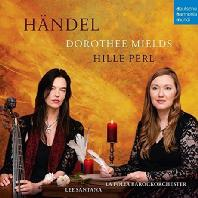 TRA LE FIAMME, CANTATA SPAGNOLA/ HILLE PERL, DOROTHEE MIELDS [힐레 페를 & 도로시 밀즈: 헨델 칸타타 외]