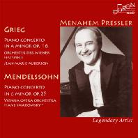 PIANO CONCERTOS/ MENAHEM PRESSLER [그리그 & 멘델스존: 피아노 협주곡 - 메나헴 프레슬러]