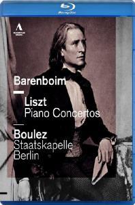 PIANO CONCERTOS/ <!HS>DANIEL<!HE> BARENBOIM, PIERRE BOULEZ [블루레이 전용플레이어 사용]
