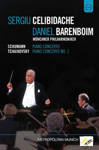PIANO CONCERTOS/ DANIEL BARENBOIM, SERGIU CELIBIDACHE