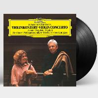 VIOLIN CONCERTO/ ANNE-SOPHIE MUTTER, HERBERT VON KARAJAN [브람스: 바이올린 협주곡 - 베를린필하모닉, 무터, 카라얀] [180G LP]
