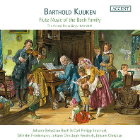 FLUTE MUSIC OF THE BACH FAMILY/ BARTHOLD KUIJKEN [바흐 가문의 플루트 음악 - 바르톨트 카위컨]