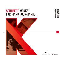WORKS FOR PIANO FOUR-HANDS/ DAEJIN KIM, CHLOE MUN [슈베르트: 네 손을 위한 피아노 작품집 - 김대진, 문지영] [한국예술종합학교 X 유니버설뮤직]