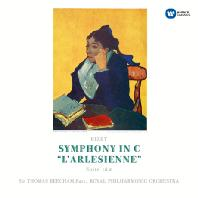 SYMPHONY IN C & L'ARLESIENNE/THOMAS BEECHAM [ORIGINAL JACKET] [비제: 교향곡 C장조, 아를르의 여인 모음곡]