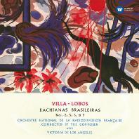 HEITOR VILLA-LOBOS - BACHIANAS BRASILEIRAS/ VICTORIA DE LOS ANGELES [ORIGINAL JACKET] [빌라-로브스: 브라질풍의 바흐]