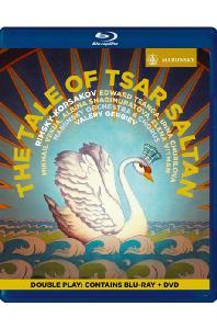 THE TALE OF TSAR SALTAN/ VALERY GERGIEV [BD+DVD] [림스키 코르사코프: 술탄 황제의 이야기 - 게르기에프]
