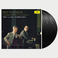 COMPLETE WORKS FOR CELLO AND PIANO/ PIERRE FOURNIER, FRIEDRICH GULDA [베토벤: 첼로 소나타 - 푸르니에, 굴다] [180G LP]