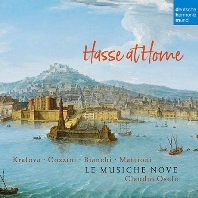 HASSE AT HOME: CANTATAS AND SONATAS/ LE MUSICHE NOVE, CLAUDIO OSELE [하세: 칸타타와 소나타 - 르 무지케 노베]