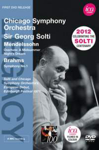 A MIDSUMMER NIGHT`S DREAM OP.21 & SYMPHONY NO.1/ GEORG SOLTI