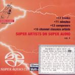SUPER ARTISTS ON SUPER AUDIO VOL.4 [SACD HYBRID]