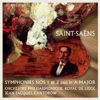 SYMPHONIES NOS.1 & 2 AND IN A MAJOR/ JEAN-JACQUES KANTOROW [SACD HYBRID] [생상스: 교향곡 1 & 2번, 교향곡 A장조 - 칸토로프]