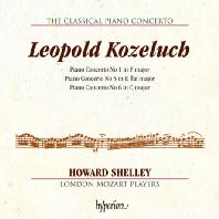 THE CLASSICAL PIANO CONCERTO 4/ HOWARD SHELLEY [고전주의 피아노 협주곡 4집: 코젤루흐]