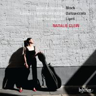 SUITES FOR SOLO CELLO/ NATALIE CLEIN [블로흐, 달라피콜라, 리게티: 무반주 첼로를 위한 모음곡 - 나탈리 클레인]