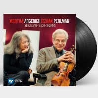 SONATA FOR PIANO AND VIOLIN/ MARTHA ARGERICH, ITZHAK PERLMAN [LP] [아르헤리치 & 펄만: 슈만, 바흐, 브람스]