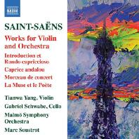 WORKS FOR VIOLIN AND ORCHESTRA/ TIANWA YANG, GABRIEL SCHWABE, MARC SOUSTROT [생상스: 바이올린과 오케스트라를 위한 작품집]