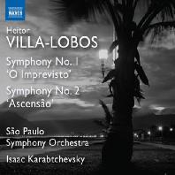 SYMPHONIES NOS.1 & 2/ ISAAC KARABTCHEVSKY [빌라 로보스: 교향곡 1 & 2번 - 이삭 카라브체프스키]