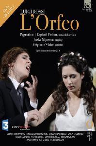 L`ORFEO/ RAPHAEL PICHON [DVD+BD] [루이지 로씨: 오르페오 - 앙상블 피그말리온, 라파엘 피숑]