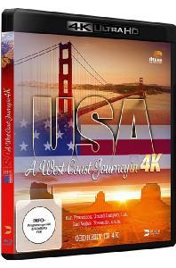 USA: A WEST COAST JOURNEY IN [4K UHD] [미국 서부 여행]