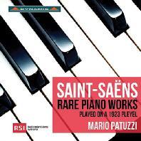 RARE PIANO WORKS/ MARIO PATUZZI [생상스: 피아노 모음곡, 피아노를 위한 앨범 - 마리오 파투치]