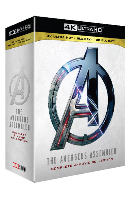 어벤져스 4 무비 컬렉션 4K UHD+3D+2D [THE AVENGERS ASSEMBLED: COMPLETE 4 MOVIE COLLECTION]