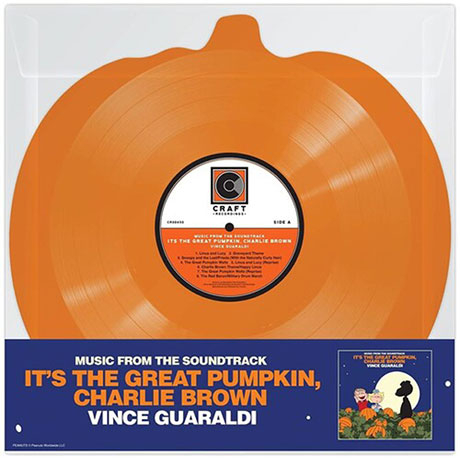 IT`S THE GREAT PUMPKIN, CHARLIE BROWN [PUMPKIN SHAPED LP]