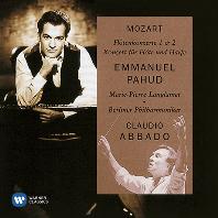 FLUTE CONCERTOS/ EMMANUEL PAHUD, CLAUDIO ABBADO [모차르트: 플루트 협주곡 1, 2번 & 플루트와 하프를 위한 협주곡 - 파후드, 아바도]
