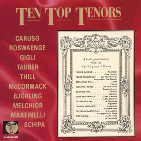 TEN TOP TENORS