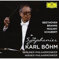 THE SYMPHONIES: BEETHOVEN, BRAHMS, MOZART, SCHUBERT [칼 뵘: 베토벤, 브람스, 모차르트, 슈베르트: 교향곡 전곡] [한정반]