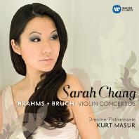 SARAH CHANG(장영주) - BRAHMS  BRUCH VIOLIN CONCERTOS/ KURT MASUR [브람스 & 브루흐: 바이올린 협주곡 - 장영주 & 쿠르트 마주어]