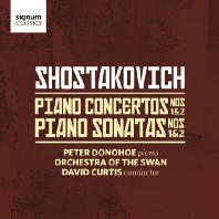 쇼스타코비치: 피아노 협주곡 1, 2번 & 피아노 소나타 1, 2번