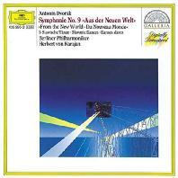 SYMPHONY NO.9 & 5 SLAVONIC DANCES/ HERBERT VON KARAJAN [드보르작: 교향곡 9번 & 슬라브 무곡 - 카라얀]