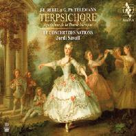 TERPSICHORE: APOTHEOSE DE LA DANSE BAROQUE/ JORDI SAVALL [SACD HYBRID] [르벨 & 텔레만: 테르프시코르 - 바로크 무곡 예찬 | 조르디 사발]