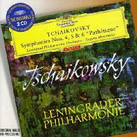 SYMPHONIES NOS.4, 5 & 6 'PATHETIQUE'/ EVGENY MRAVINSKY [THE ORIGINALS] [차이코프스키: 교향곡 4~6번 - 므라빈스키]