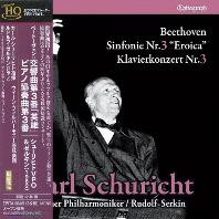 SYMPHONY NO.3 EROICA & PIANO CONCERTO NO.3/ CARL SCHURICHT [UHQ] [베토벤: 교향곡 3번 영웅, 피아노협주곡 3번 - 칼 슈리히트]