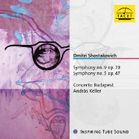 SYMPHONIES NOS.9 & 5/ CONCERTO BUDAPEST, ANDRAS KELLER [쇼스타코비치: 교향곡 5, 9번]