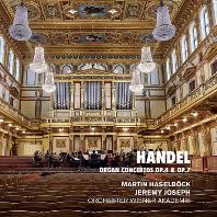 ORGAN CONCERTOS OP.4 & OP.7/ MARTIN HASELBOCK, JEREMY JOSEPH [헨델: 오르간 협주곡집 - 조셉, 하젤뵈크]