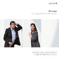 DIALOGE/ MICHAEL SIEG, ANGELIKA MERKLE [잉글리시 호른과 피아노를 위한 작품집]