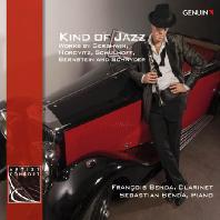 KIND OF JAZZ/ FRANCOIS BENDA, SEBASTIAN BENDA [카인드 오브 재즈: 클라리넷과 피아노 작품집 - 프랑소와 벤다]