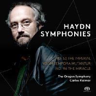 SYMPHONIES/ CARLOS KALMAR [SACD HYBRID] [하이든: 교향곡 53, 64, 96번]