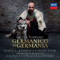 GERMANICO IN GERMANIA/ MAX EMANUEL CENCIC, JAN TOMASZ ADAMUS [포르포라: 게르마니아의 게르마니쿠스 - 첸치치, 아다무스]