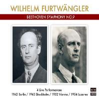SYMPHONY NO.9/ WILHELM FURTWANGLER: 4 LIVE PERFORMANCES 1942, 1943, 1952, 1954 [베토벤: 교향곡 9번] [타라 레이블 푸르트뱅글러 명반 4종 시리즈]
