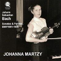 SONATAS & PARTITAS BWV1001-1006/ JOHANNA MARTZY [바흐: 무반주 바이올린 소나타와 파르티타 - 요한나 마르치]
