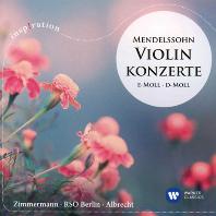 VIOLIN CONCERTO/ FRANK PETER ZIMMERMANN, GERD ALBRECHT [INSPIRATION] [멘델스존: 바이올린 협주곡 - 프랑크 페터 짐머만, 알브레히트]